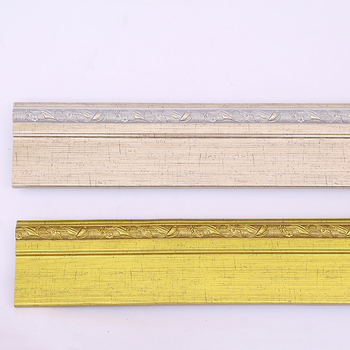 Golden Wide Custom Frame Moulding Hardwood Picture Frame Moulding In