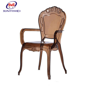 Nice Design Banqueting Modern Polypropylene Clear Acrylic Chair