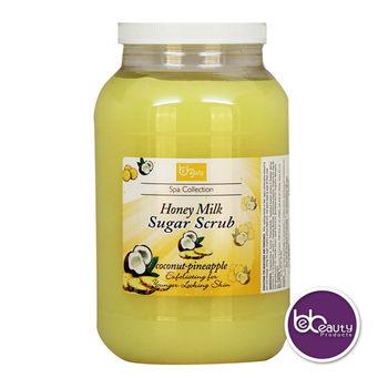 Honey Glycerin Sugar Scrub - Coconut Pineapple - Made In USA, View Glycerin  Sugar Exfoliation Body Scrub Essential Oil Exfoliate Nourishing Hydrating