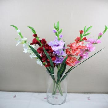 Artificial gladiolus flower large silk flowers buy silk flowers artificial gladiolus flower large silk flowers mightylinksfo