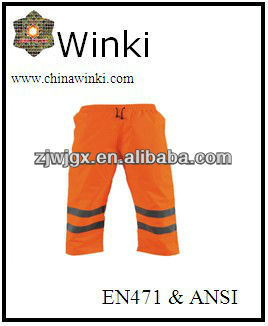 Waterproof Safety Pants With Reflective Tape