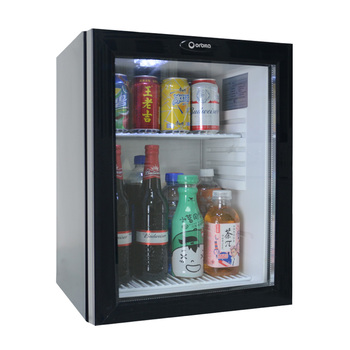 mini fridge and microwave set