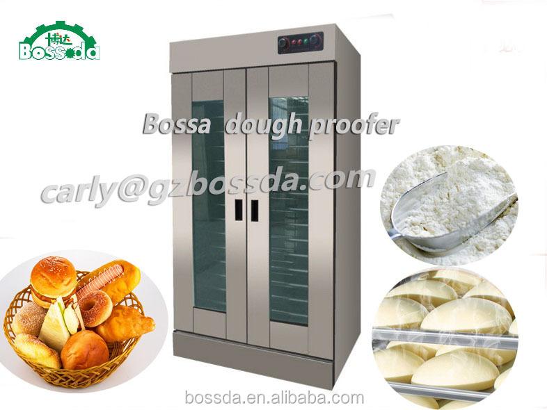 BOSSDA 32 trays bread fermentation machine 36trays Bakery Dough Prover Bread Baking Proofer