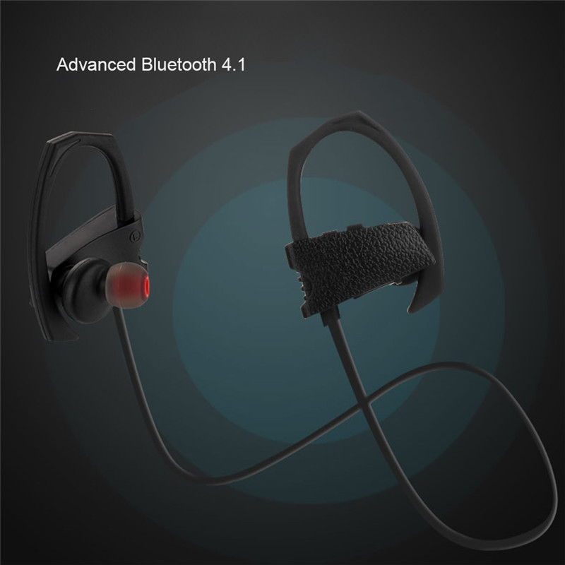 Universal Hands-free sport wireless earhook bluetooth headphone for Android /Ios Phones