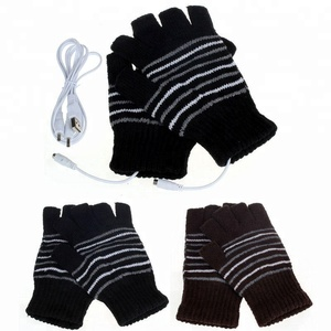 Promotion Breathable Winter UBS Powered Energy Saving Desired Temperature Heat Safety Work Gloves