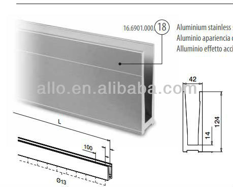 how to clean oxidised aluminium joinery