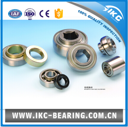 IKC GW208PP17 Agricultural machinery insert ball bearing - round, square, or hexagonal bore 29.97x85.738x36.5m