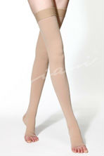 Thigh High Medical Compression Stocking - Open Toe (20-30mmHg)