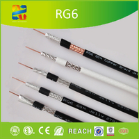 Trade Assurance 2016 Hangzhou XINGFA 60% Braided Jelly Fill RG Cable RG6 Dual Shield Coaxial Cable 75Ohm