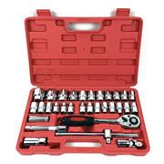 61 PC 자동차 수리 도구 래칫 토크 렌치 소켓 세트