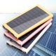 High Efficient 10000mAh Solar Charger for Mobile Phones Tablet PC PDA Outdoor Camping Solar Power Bank