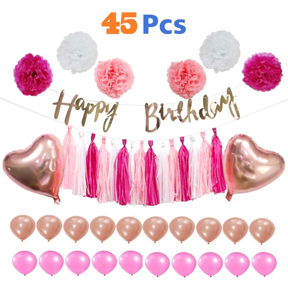 Buy Fond Birthday Wishes Two Young Girls With Large Pink Flowers