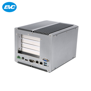 2019 new product wall mounted and mute fanless industrial pc case