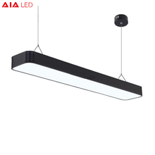Eenvoudige 36 w 4ft buis aluminium office <span class=keywords><strong>led</strong></span> hanglamp <span class=keywords><strong>led</strong></span> opknoping licht voor <span class=keywords><strong>kantoor</strong></span>
