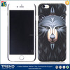 for iphone 6 6S rubber printed hard back mobile phone cover case