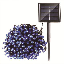 Работающий на солнечных батареях 72ft 200 светодиодный светильник s наружный водонепроницаемый цветной Сказочный с режимами управления меняю...(Китай)