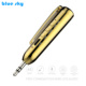 Multi-functional Stereo V4.1 Wireless Audio Receiver Pen with Music Player and Microphone Gold Colour