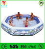 Large inflatable round swimming pool toy summer fun for kids