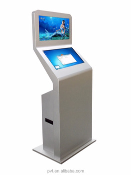 21.5'' Bank Kiosk Shopping Mall Kiosk Dual Screen Kiosk