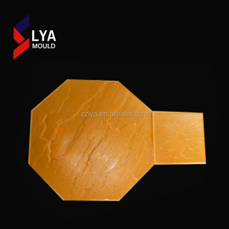 slate concrete stamped mats concrete molds