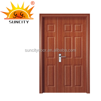 Wooden Grain Pvc Faced Mdf Cheap Interior Folding Doors Buy Cheap