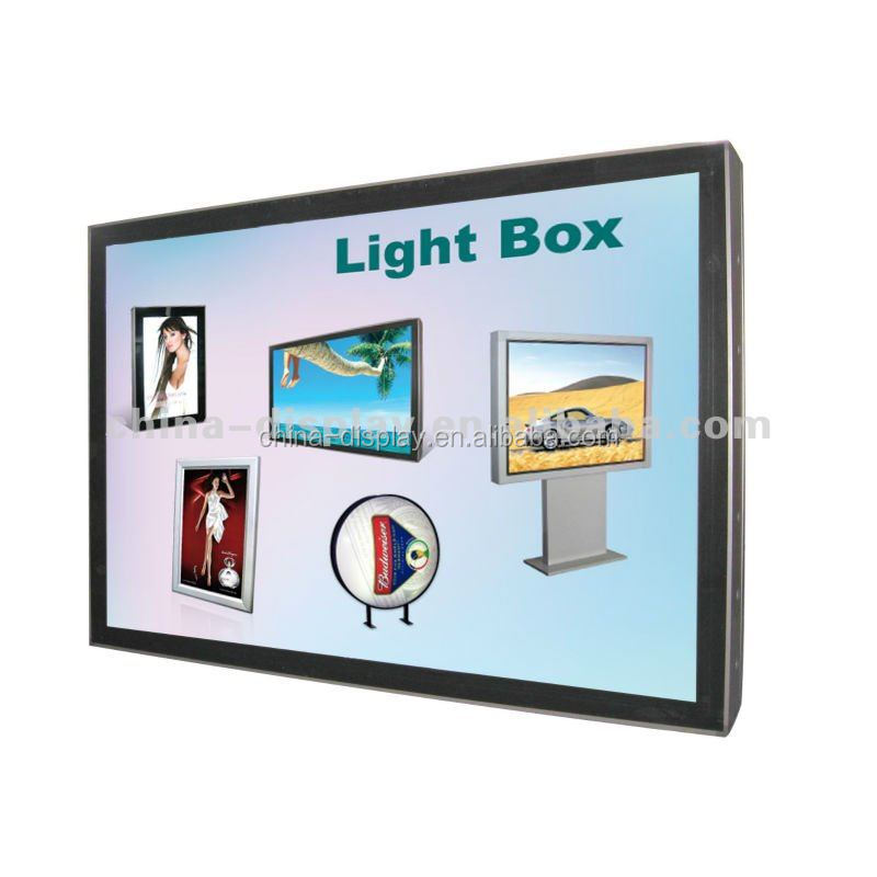 Single Sided or double Sided poster scrolling video driver cctv box camera