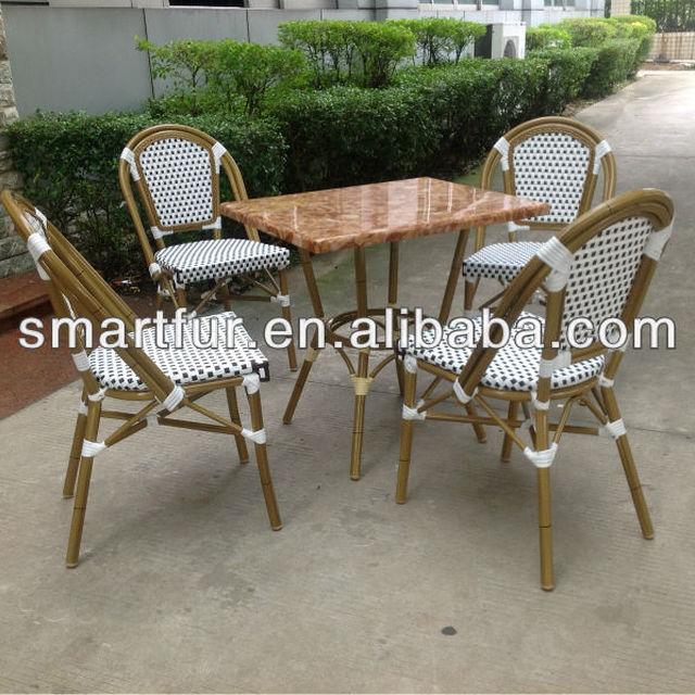 Popular Used Wicker Patio Furniture Bamboo Style