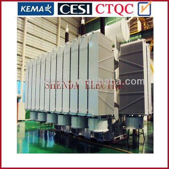 China Customized 400kv Power Transformer with MR Tap