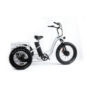 brushless motorised 35km/h 25km/h fat tire electric cargo trike