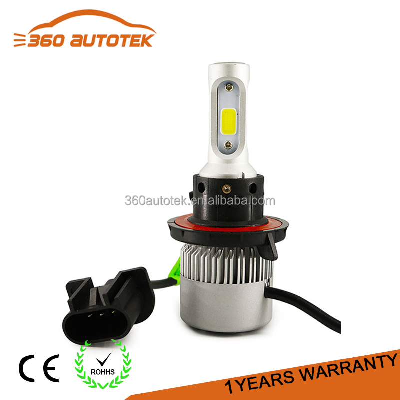 High brightness 35W H7 hid xenon kit replacement 38W 3800lm S2 h7 led light headlight