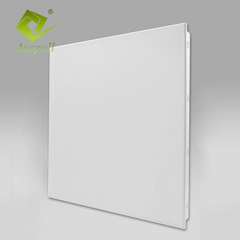 Metal Decorative Material Aluminum Ceiling Tiles 600x600 For Office