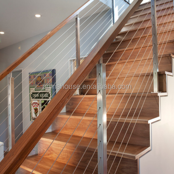 Exterior Stainless Steel Cable Railing System 304 316 Stainless