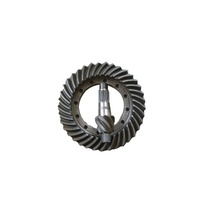 Customized High precision steel crown wheel and pinion gear bevel gear China Manufacturer
