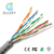 Communication ethernet 8 core twisted solid 1000ft Copper utp cat5e lan cable
