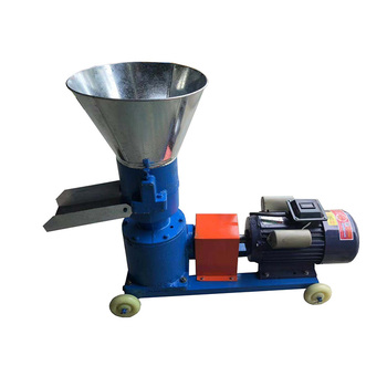 Best price flat die  cattle poultry cow manure fertilizer feed pellet making mill machine
