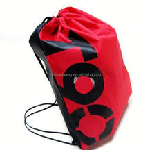 2015 cheap polyester notebook bag/ beach cooler tote bag/ useful natural polyester notebook bags