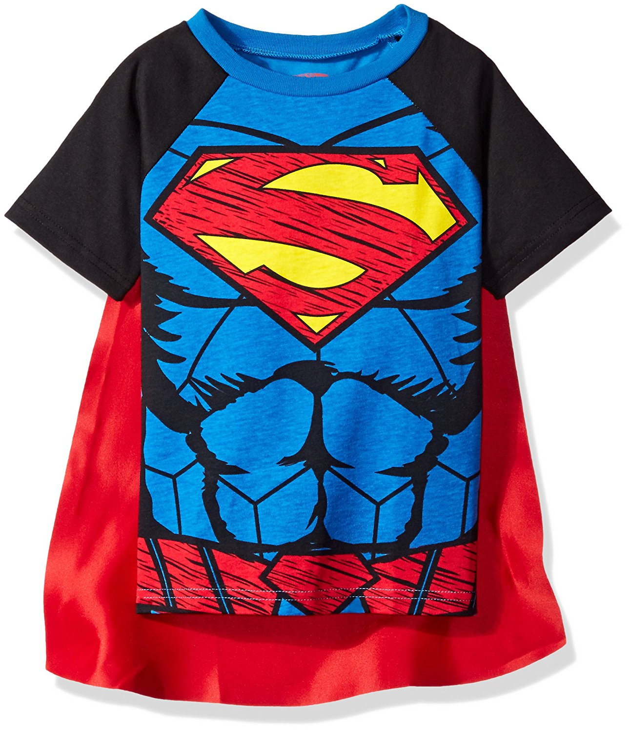 0aff9b805 Superman T Shirt With Detachable Cape – EDGE Engineering and ...