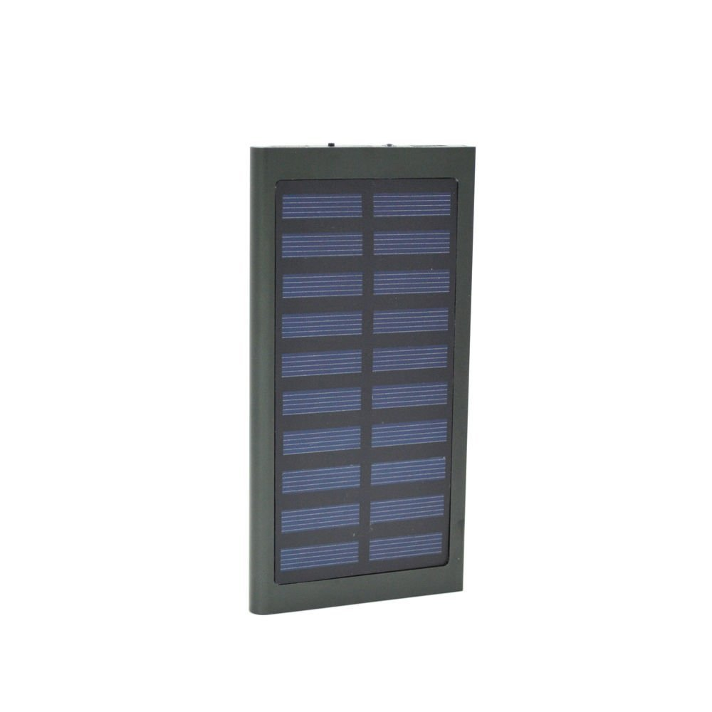 Power Bank 100000mAh Dual USB Portable Solar Battery Charger Solar Mobile Power For Phone