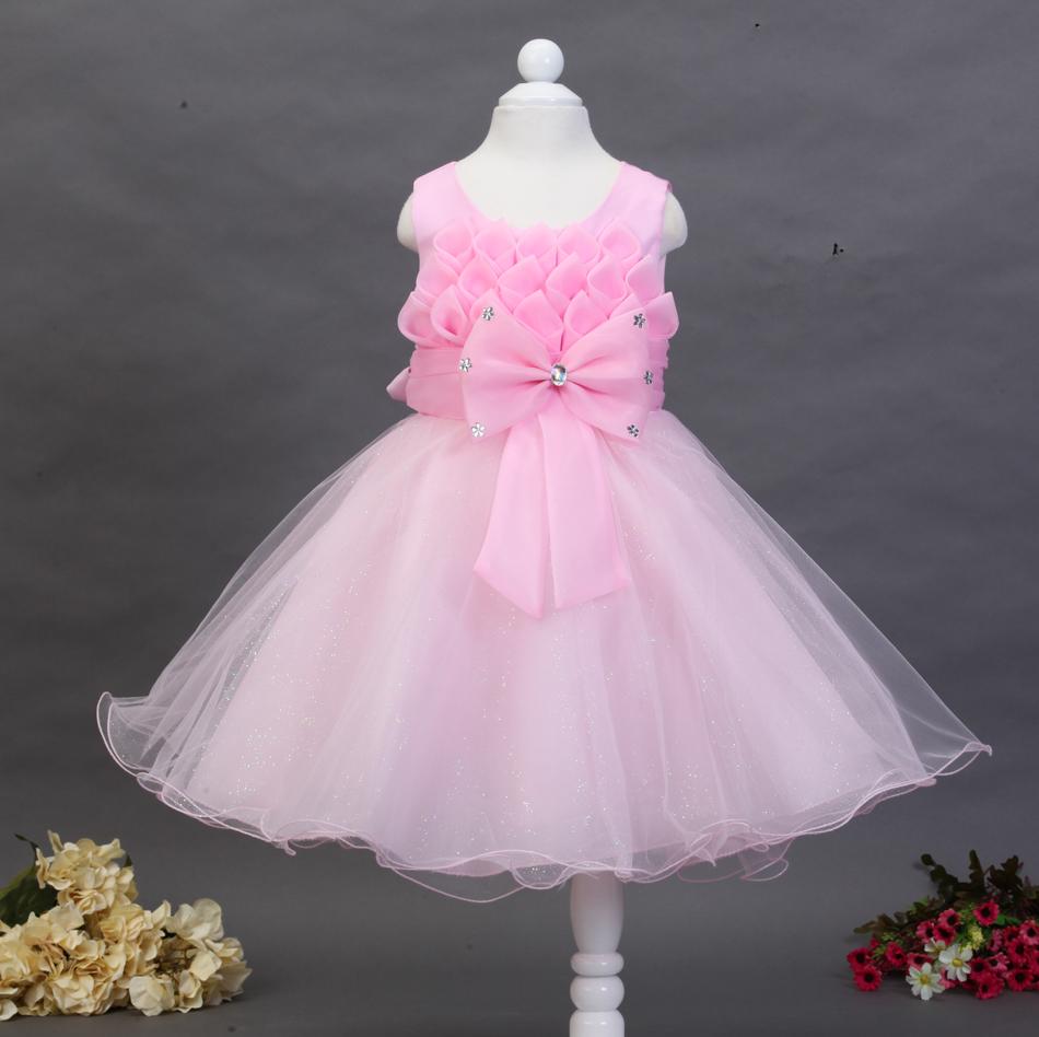 Bebé vestido de noche con encanto vestidos de boda LACE compras en ...
