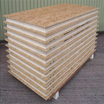 Waterproof osb sandwich panels for wooden house buy for Sip panels buy online