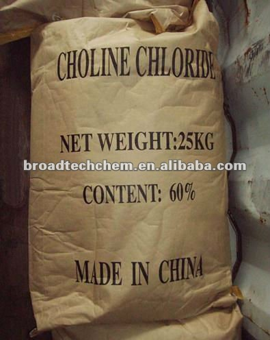 Factory Price 50%/70%/75% Choline Chloride Corn Cob