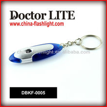 Cheap 1 LED Plastic Tiny Flashlight For VIP Sample Free