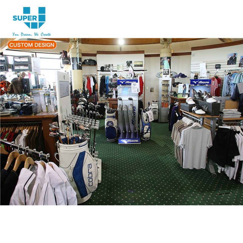 Commercial High Quality Modern Best Golf Display Rack