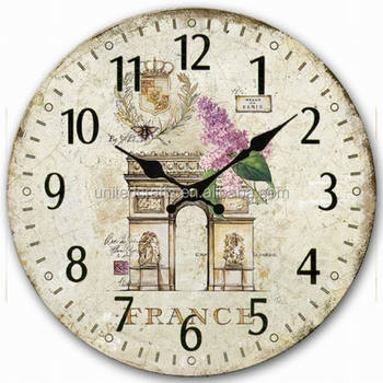 promotional gifts office item quartz mdf wooden cheap wall clocks