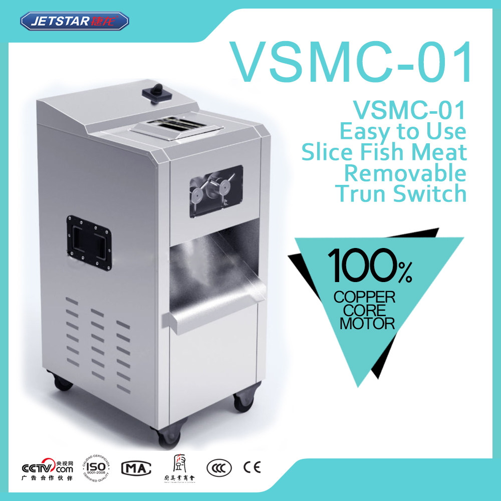 VSMC-01JETSTAR Stainless Steel Capacity 450kg/h Multifunctional Meat Slicer