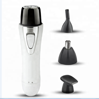 New Popular 4 in 1 Multi-function Electric Hair Shaver Nose Hair Trimmer Kit for Women