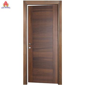 . Bomei Solid Wood Interior Door Modern Swing flush wooden doors Door For  Bedroom  View modern interior door  BOMEI Product Details from Guangdong  Bomei