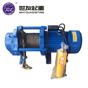 Warehouse used Electric wire rope winch lifting hoist electric hoist
