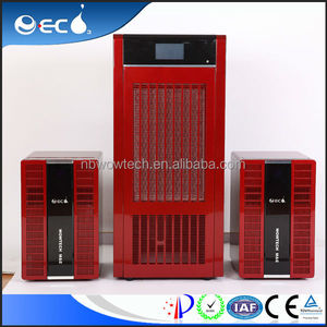 Conference room air purifier with activated carbon and ozone