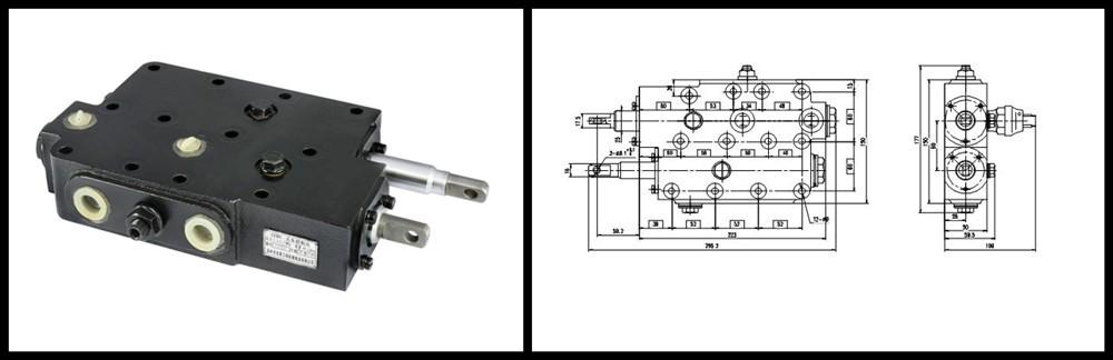 Hydraulic Controls Parts : Ccm excavator spare parts hydraulic control valve buy